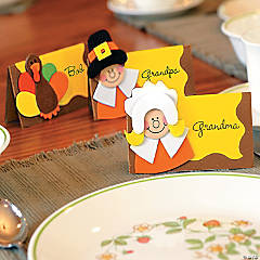 Thanksgiving Place Card Craft Kit