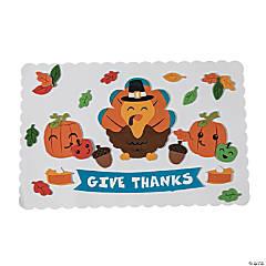 Thanksgiving Placemat Craft Kit