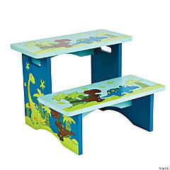 That's How We Rawr Dinosaur Step Stool