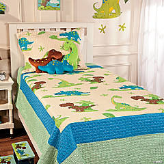 That's How We Rawr Quilt-a-saurus Dinosaur Blanket - Queen