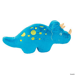 That's How We Rawr Snugglesaurus Blue Plush Dinosaur - Triceratops