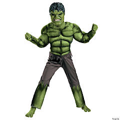 The Avengers™ Hulk Classic Muscle Boy's Costume