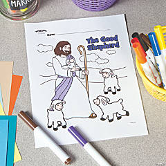The Good Shepherd Free Printable Coloring Page