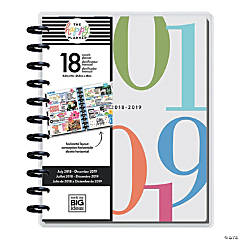 The Happy Planner<sup>&#174; </sup>2018-2019 Colorblock Big 18-Month Planner