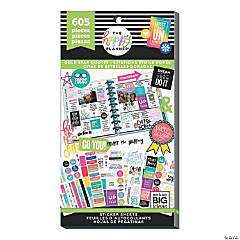 The Happy Planner<sup>&#174;</sup> Gold Star Quotes Value Pack Stickers
