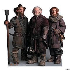 The Hobbit: Nori, Dori & Ori Cardboard Stand-Up