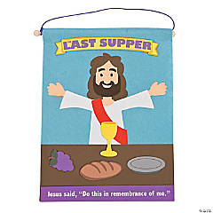 The Last Supper Banner Craft Kit