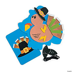 """The Legend of the Turkey"" Sign Craft Kit"