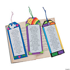 """The Lord's Prayer"" Bookmark Craft Kit"
