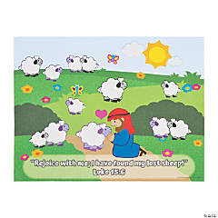 The Lost Sheep Sticker Sheets