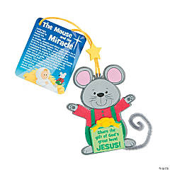 The Mouse & the Miracle Christmas Ornaments Craft Kit
