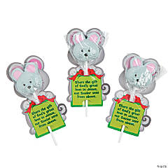 The Mouse & the Miracle Pops with Card
