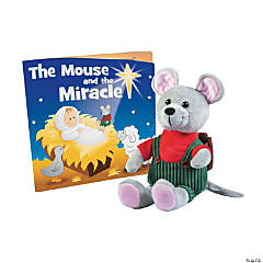 The Mouse & the Miracle Stuffed Mouse with Book