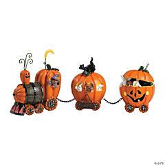 The Pumpkin Express Train Halloween Décor