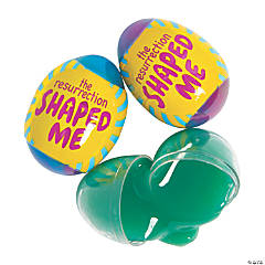 The Resurrection Shaped Me Putty-Filled Eggs - 12 Pc.