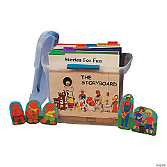 The Storyboard Tote with 32 Classic Felt Stories