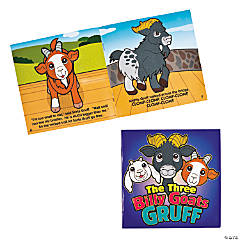 """The Three Billy Goats Gruff"" Early Reader Books"