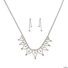 The Victoria Rhinestone Jewelry Set