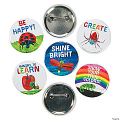 The World of Eric Carle™ Mini Motivational Buttons