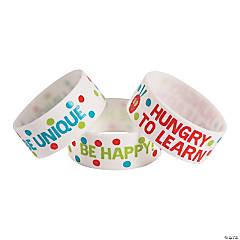 The World of Eric Carle Motivational Big Band Rubber Bracelets