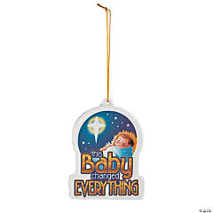 This Baby Changed Everything Ornament