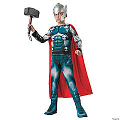 Thor Muscle Costume for Boys