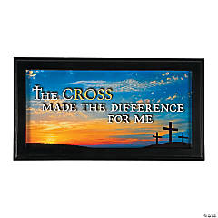 Three Cross Plaque