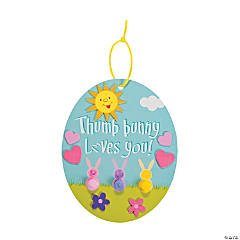 Thumb Bunny Loves You Craft Kit