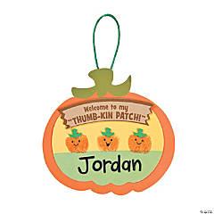 Thumbprint Pumpkin Patch Craft Kit
