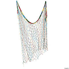 Tie-Dye Fish Net Wall Decoration