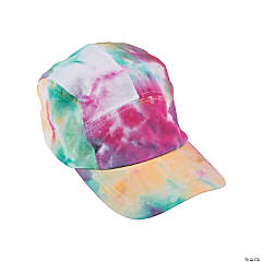 Tie-Dyed Baseball Caps