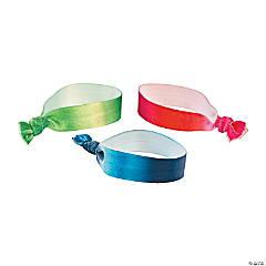 Tie-Dyed Elastic Bracelets & Hair Ties
