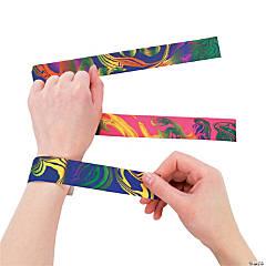 Tie-Dyed Slap Bracelets