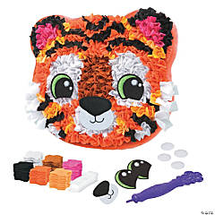 Tiger Pillow Plush Craft