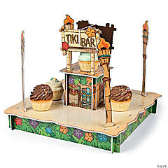 Tiki Bar Cupcake Holder