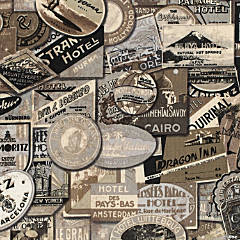 Tim Holtz  8Yd D/R-Travel - Taupe