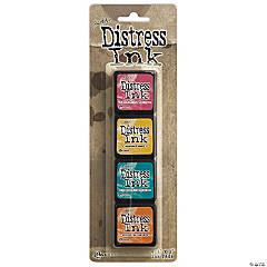 Tim Holtz Distress Mini Ink Pads 4/Pkg-Kit 1