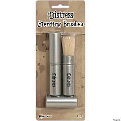 Tim Holtz Distress Retractable Blending Brush 2/Pkg-