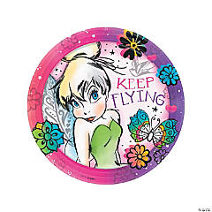 Tinker Bell Flying Dinner Plates