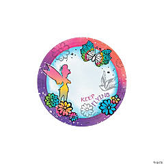 Tinker Bell Keep Flying Dessert Plates