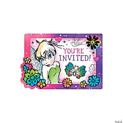 Tinker Bell Keep Flying Invitations