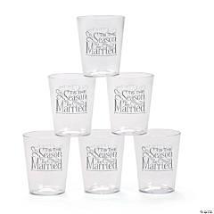 'Tis the Season Plastic Shot Glasses