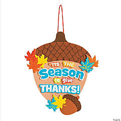 'Tis the Season To Be Thankful Sign Craft Kit