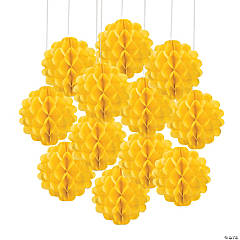 Tissue Balls - Yellow