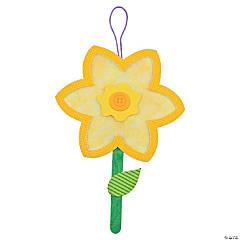 Tissue Paper Daffodil Craft Kit