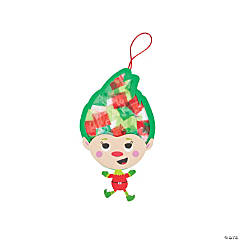 Tissue Paper Elf Craft Kit