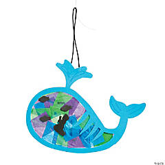 Tissue Paper Jonah & the Whale Ornament Craft Kit