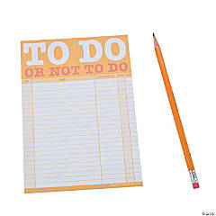 To Do Or Not To Do Notepads