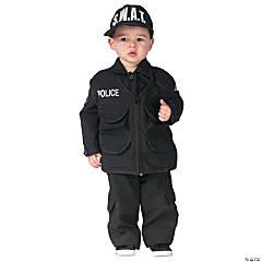 Toddler Authentic SWAT Costume - 3T-4T