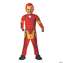 Toddler Boy's Deluxe Muscle Chest Iron Man™ Costume